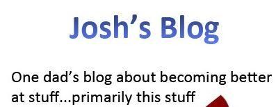 josh blog