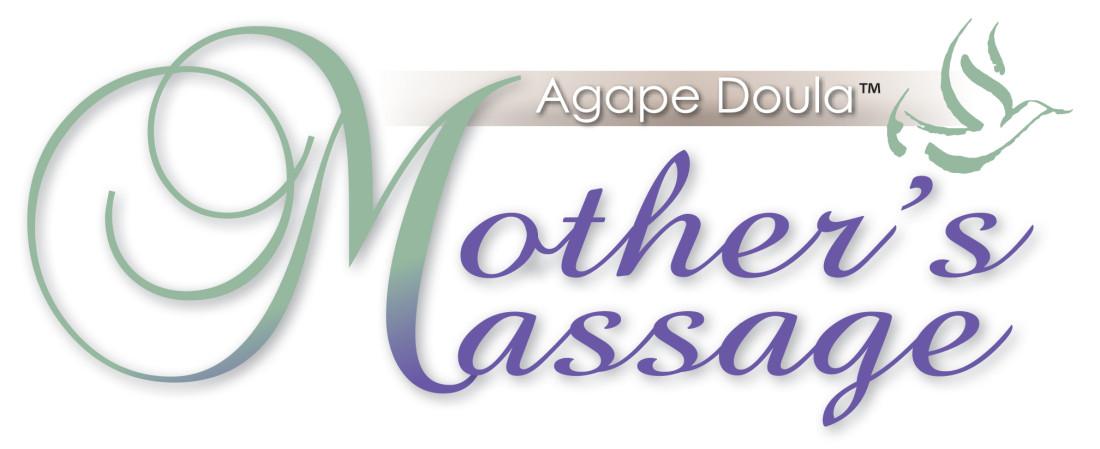 agape doula mothers massage logo copy